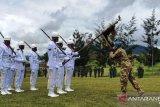 Bupati Jayawijaya terima satgas TNI penugasan pasukan PBB