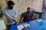 Tengah transaksi di pos ronda, pemilik sabu 15 gram di Lombok Timur diringkus polisi