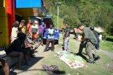 Aktivitas warga Beoga Puncak kembali normal pascapenembakan dua guru