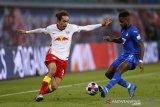 Liga Jerman - Leipzig buang peluang pepet Bayern di klasemen
