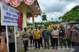 Satgas TNI Yonif Mekanis 512/QY hadiri peresmian Polsek Arso Timur