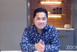 Erick tantang milenial jadi pengusaha ciptakan lapangan kerja