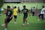 Pemain PSMS Medan kembali latihan usai libur Ramadhan