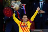 Messi cetak sejarah, kedua terbanyak peroleh trofi