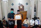 Ketua DPRD Sumbar salurkan bantuan untuk 13 masjid di Payakumbuh dan Kabupaten 50 Kota