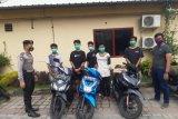 Lima pebalap liar dan belasan pelaku perang petasan di Mataram diamankan polisi