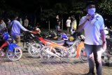 Puluhan motor, senjata tajam dan petasan disita aparat di Lombok Tengah