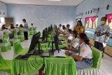 Ujian tiga SMA di Gumas masih berbasis kertas pensil