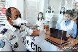 Uji coba pelayanan genose C19 dilaksanakan di bandara Juwata Tarakan