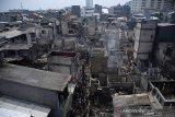 Akibat pertengkaran suami istri, 112 rumah hangus terbakar dikawasan Taman Sari
