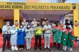 Jasa Raharja gelar rapid antigen gratis di Pasar Suka Ramai