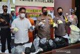 Polisi sita ratusan kilogram bahan petasan di Magelang