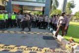 Hambat penjahat melarikan diri, Polresta Surakarta gelar latihan