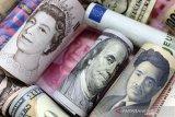 Dolar AS jatuh saat sentimen risiko  meningkat