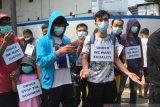 Pengungsi asing UNHCR unjuk rasa ingin temui Presiden Jokowi