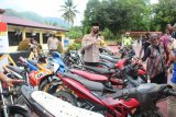 Polres Enrekang sita 18 sepeda motor saat razia balap liar