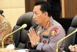 Rakor jelang Idul Fitri, Kapolri sebut keselamatan rakyat hukum tertinggi