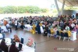 Ratusan guru di Kota Makassar jalani vaksinasi COVID-19