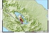 BMKG mencatat Kabupaten Samosir diguncang 63 gempa dangkal sejak Januari 2021