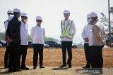 Presiden Jokowi tinjau kesiapan kawasan industri di Batang