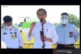 Dalam kunjungan kerjanya, Presiden Jokowi dengarkan keluhan para petani di Indramayu