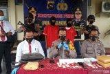 Polres Agam tangkap dua pengedar narkotika, sebelum ke Agam diedarkan di Padang Pariaman, Bukittinggi dan Pasaman