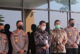 Kemarin, Polda Lampung dan KPK koordinasi terkait penanganan perkara korupsi