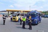 Di Bandung polisi mulai penyekatan usai ada larangan mudik terbaru