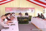 Rapat lintas sektoral kesiapan Pam Idul Fitri1442 dipimpin Mendagri melalui video conference