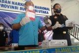 BNN Sulut bersama Bea Cukai tangkap dua tersangka narkotika