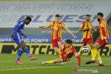 Leicester ke jalur kemenangan kembali saat gasak West Brom 3-0