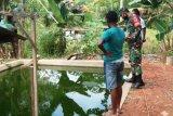 Babinsa Koramil Boven Digoel motivasi warga binaan beternak ikan