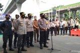 Aparat keamanan perketat penjagaan Gedung Sekretariat ASEAN jelang KTT