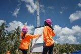 Kiprah Srikandi PLN, ikut dirikan tower listrik darurat di NTT