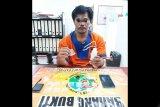 Polisi  tangkap  pengedar  simpan  14 paket sabu  di Lahei