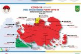 Pulau Batam kembali  zona merah akibat meningkatnya COVID-19