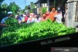 Aksi Membagi Sayur Saat Bulan Ramadhan