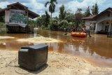 Banjir landa tiga daerah di Riau