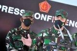 Kapuspen TNI Mayor Jenderal Achmad Riad sebut KRI Rimau temukan dan kejar satu titik magnet kuat