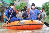 500 jiwa terdampak banjir, Wali Kota Pekanbaru baru tinjau lokasi