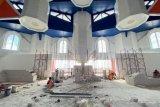 Pembangunan Masjid 99 Kubah di Makassar kembali dilanjutkan