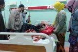 Tabung gas senapan angin meledak, dua warga Pujut Lombok Tengah terbakar