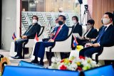 Kata Jokowi di ALM: Kekerasan di Myanmar harus ditentikan, demokrasi dikembalikan