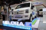Pada ajang IIMS, kendaraan listrik DFSK Gelora E versi minibus sudah dipesan 4 unit