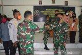 Tim asistensi Pusterad tinjau kegiatan program Pramuka di Kodim Mimika