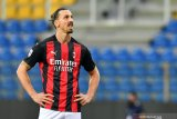 Ibrahimovic dipastikan absen saat AC Milan tandang ke Lazio
