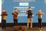 PTPN IX raih dua penghargaan TOP CSR Awards 2021