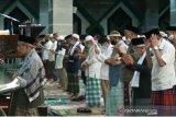Jamaah Al-Markaz Makassar shalat gaib untuk 53 awak KRI Nanggala-402
