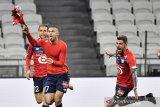 Liga Prancis, Lille amankan kembali pucuk klasemen seusai bangkit pecundangi Lyon