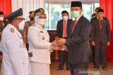 Gubernur NTB resmi melantik H Mahmud Abdullah sebagai Bupati Sumbawa